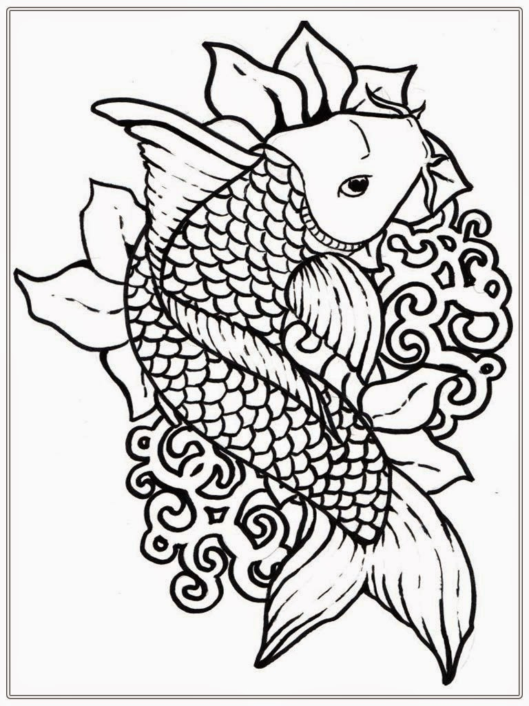 Printable Fish Coloring Pages For Adults - Uu99 Coloring Book - Free Printable Fish Coloring Pages