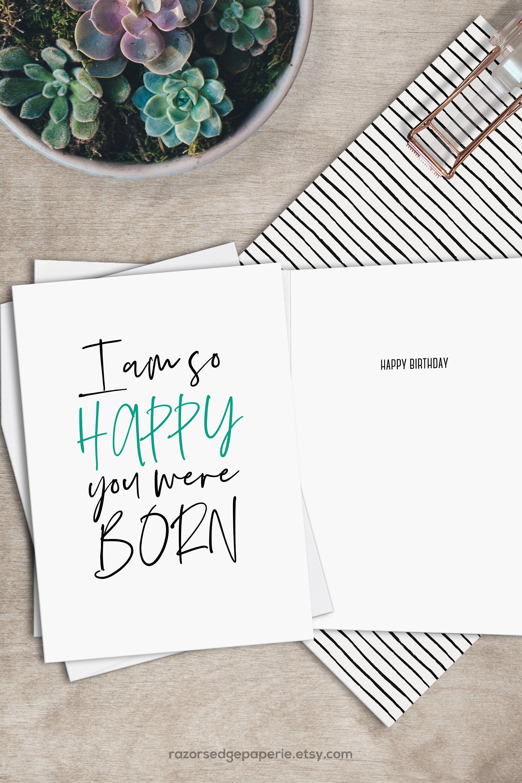 image regarding Free Printable Funny Birthday Cards identify Printable Amusing Birthday Card Instantaneous Down load Electronic