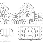 Printable Gingerbread House Template To Color   Ayelet Keshet   Gingerbread Template Free Printable