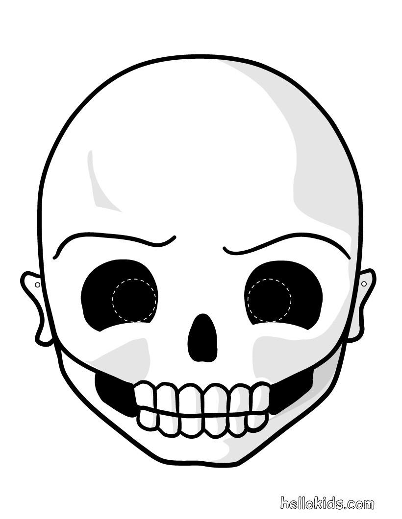 Printable Halloween Masks - Halloween Monster Masks For Kids - Free Printable Halloween Face Masks
