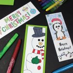 Printable Holiday Bookmarks To Color | Kid Blogger Network   Free Printable Christmas Bookmarks To Color