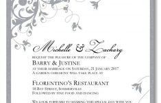 Free Printable Wedding Invitation Templates For Word