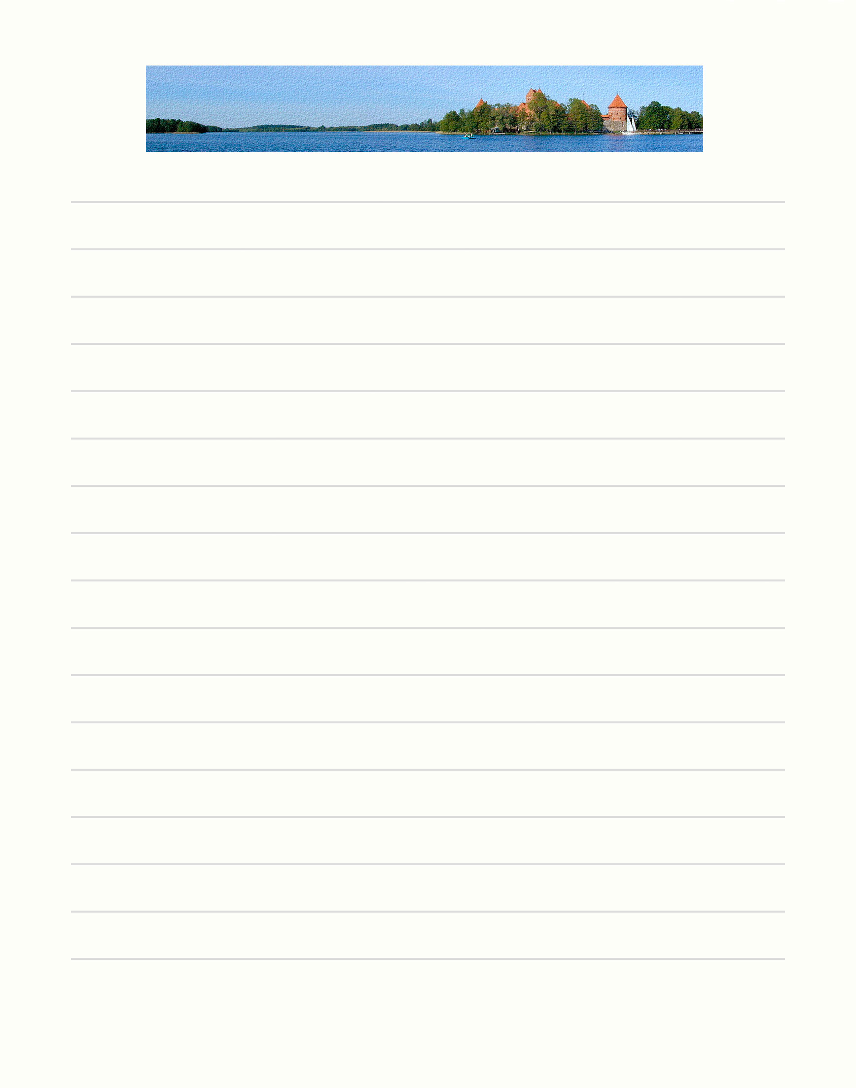 Printable Lined Paper   Creative Templates  Free Stationery Image - Free Printable Lined Stationery