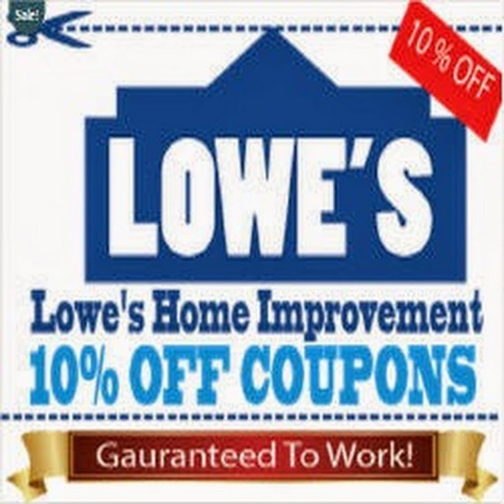 Lowes Coupon Printable Free