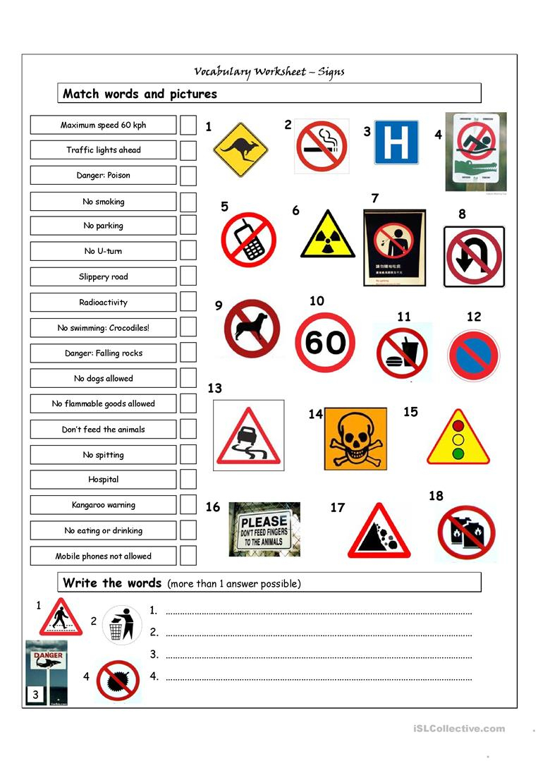 Printable Mandatory Signs | Download Them Or Print - Free Printable Health And Safety Signs