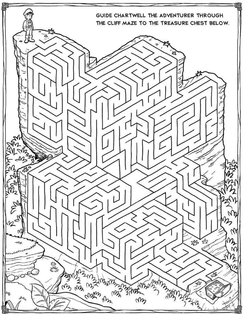 Printable Mazes | Puzzles And Games | Mazes For Kids, Printable - Free Printable Mazes