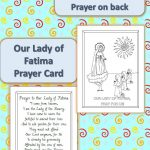 Printable Our Lady Of Fatima Prayer Cards | Catholic Printables   Free Printable Catholic Prayer Cards