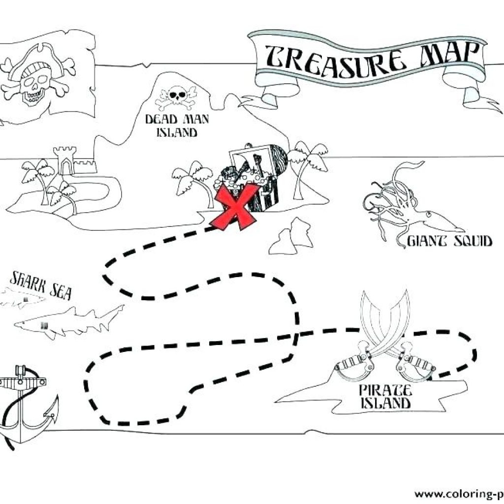 Printable Pirate Map Free Birthday Clipart | House Clipart Online - Free Printable Pirate Maps