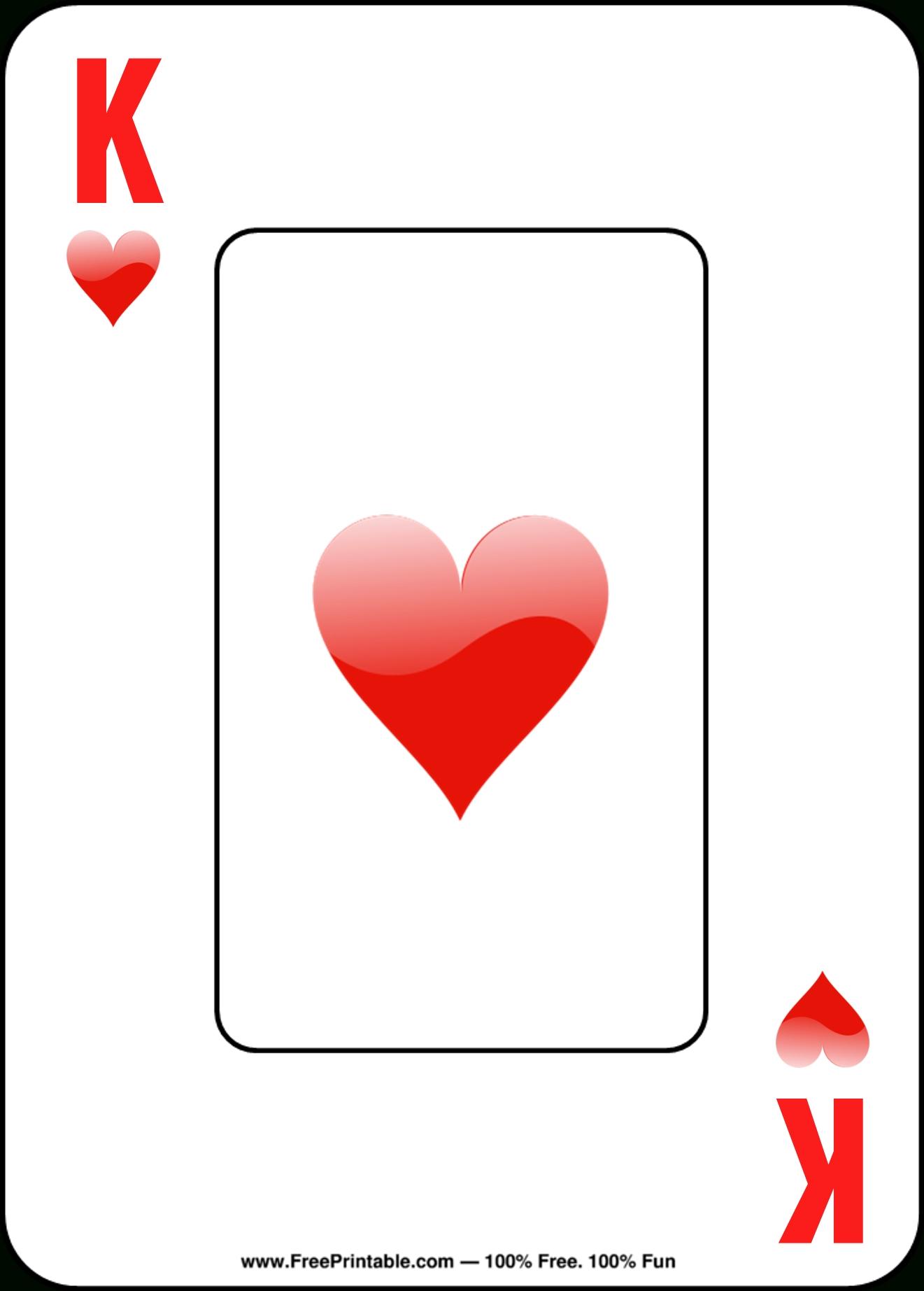 Printable Playing Cards   Chart And Printable World - Free Printable Deck Of Cards