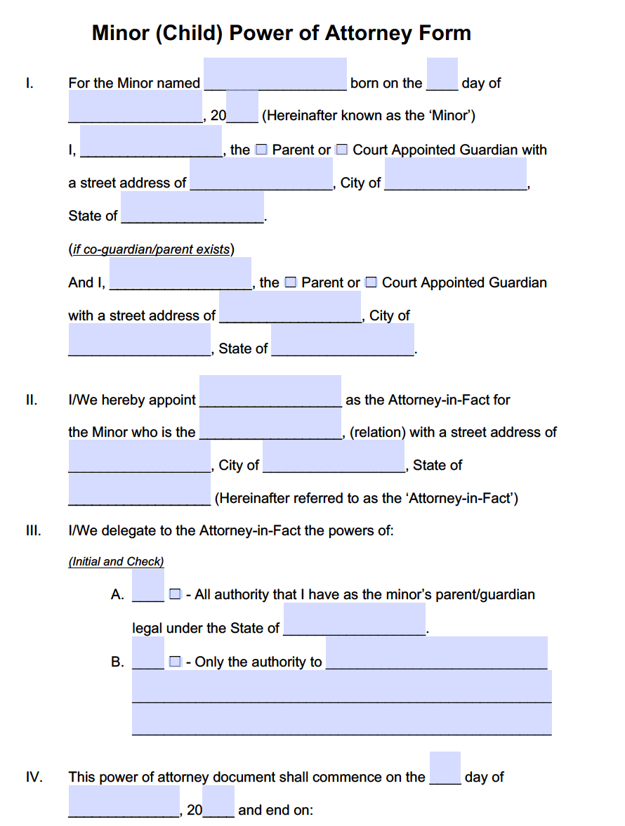Printable Power Of Attorney Form For Florida - 15.9.kaartenstemp.nl • - Free Printable Power Of Attorney Form Florida