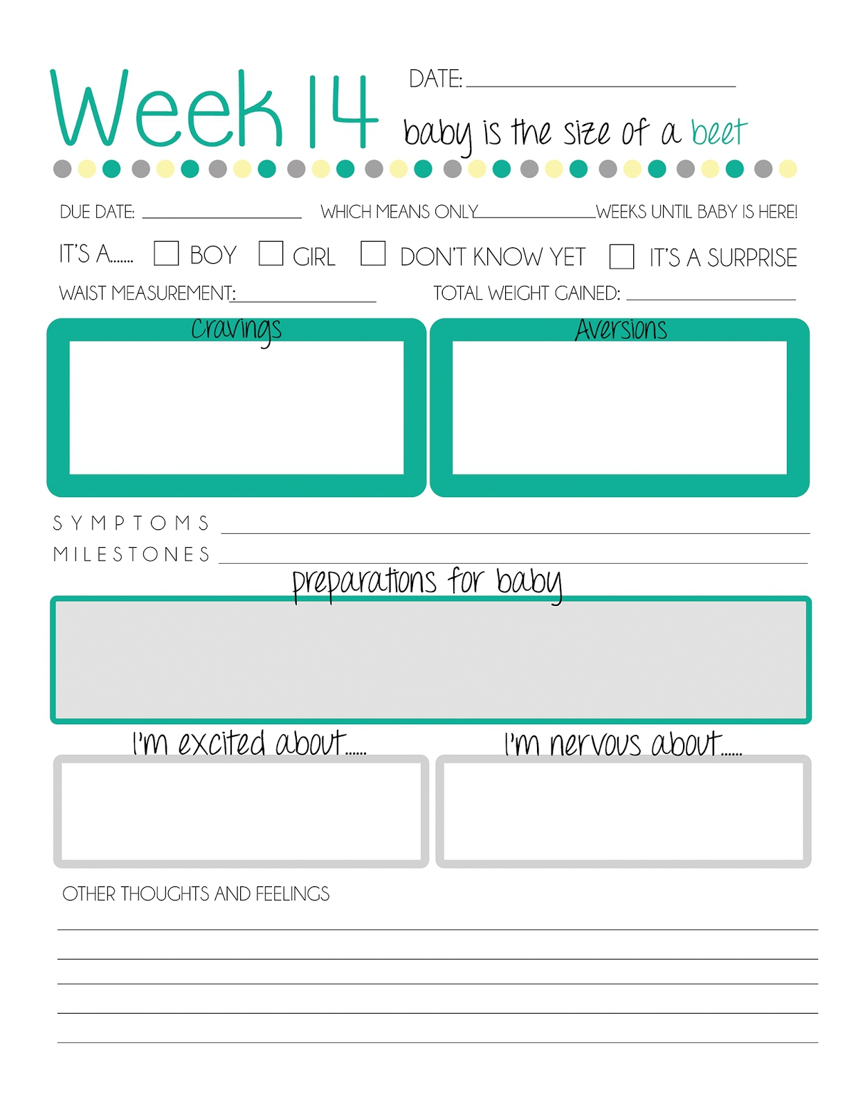 Printable Pregnancy Journal   Online Calendar Templates - Free Printable Baby Journal Pages