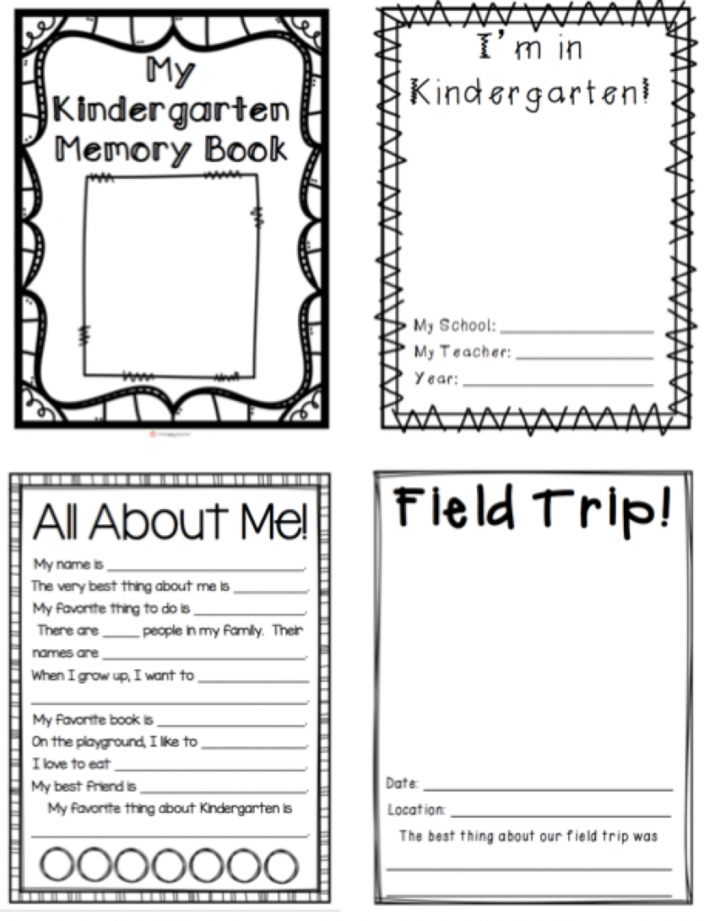 Printable Preschool Memory Books#857642 - Myscres In Free Printable - Free Printable Preschool Memory Book