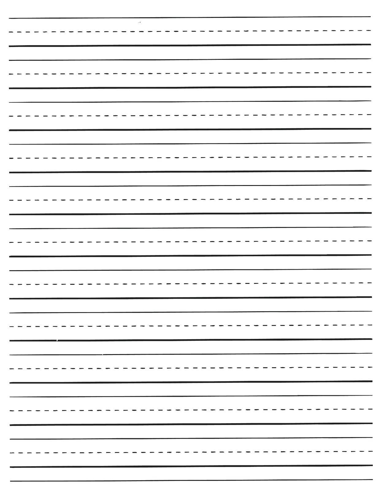 Printable Preschool Writing Paper – Jpbitcoin.club - Free Printable Writing Paper With Picture Box
