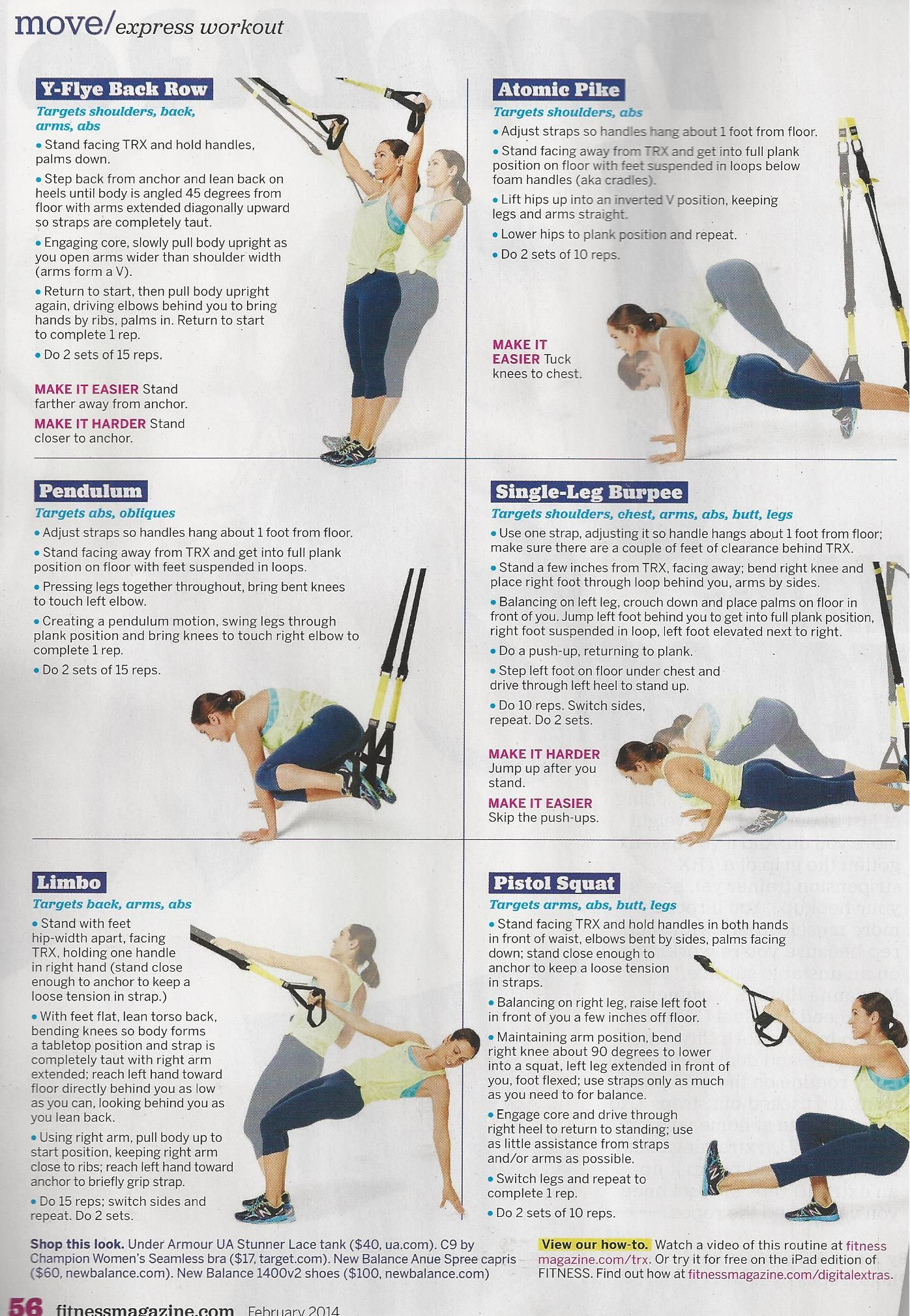Printable Sample Trx Workouts Form | Workout | Pinterest | Trx - Free Printable Trx Workouts