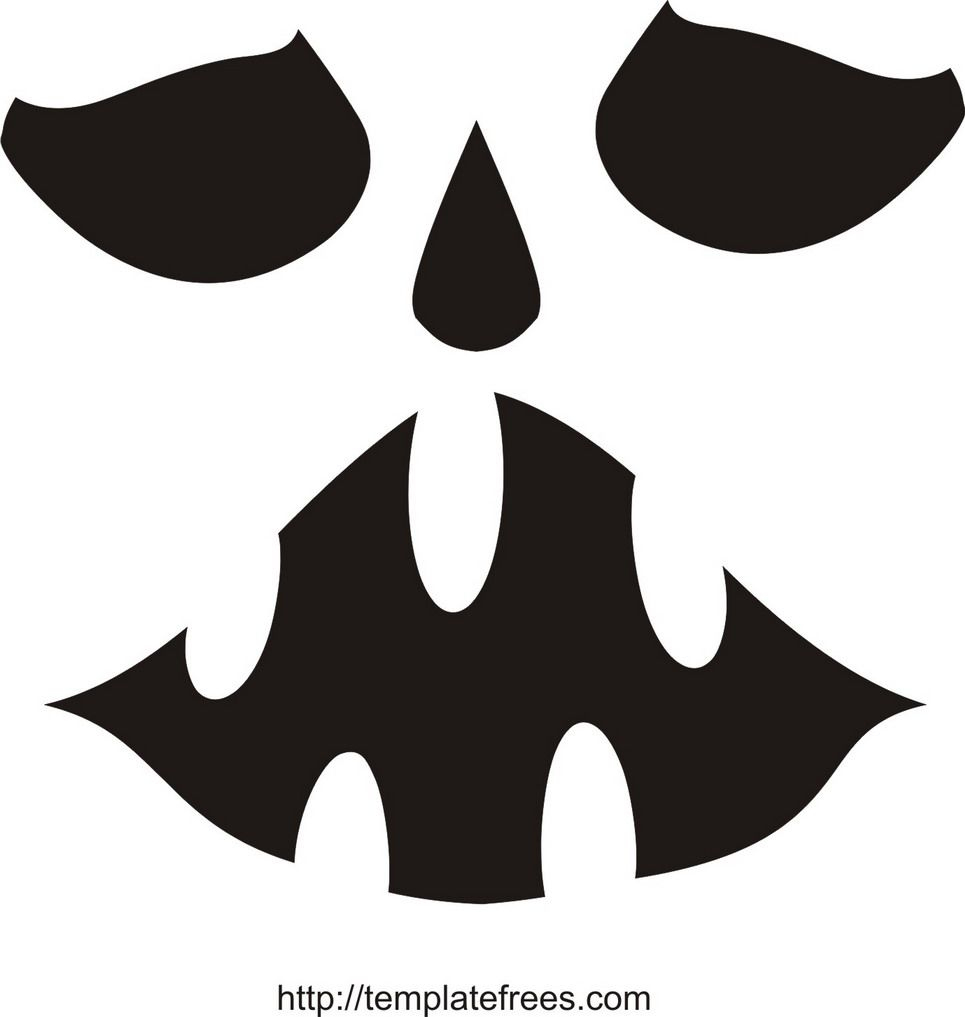 Printable Scary Pumpkin Carving Stencils | Free Printable Pumpkin - Scary Pumpkin Stencils Free Printable