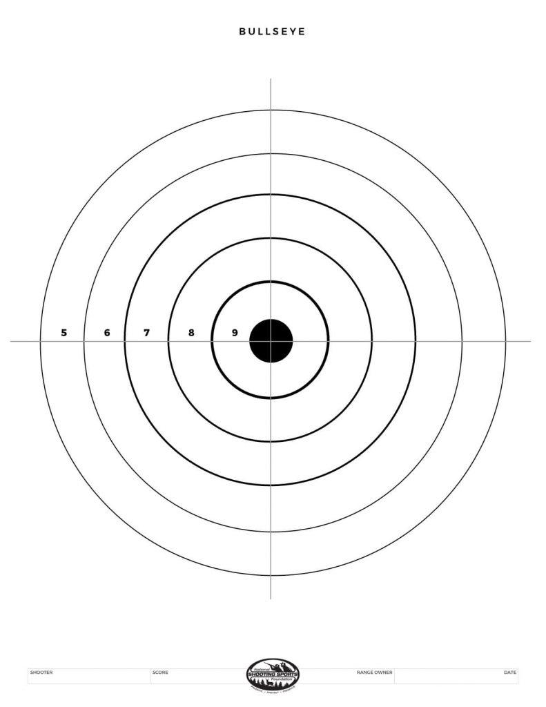 Printable Shooting Targets And Gun Targets • Nssf - Free Printable Shooting Targets