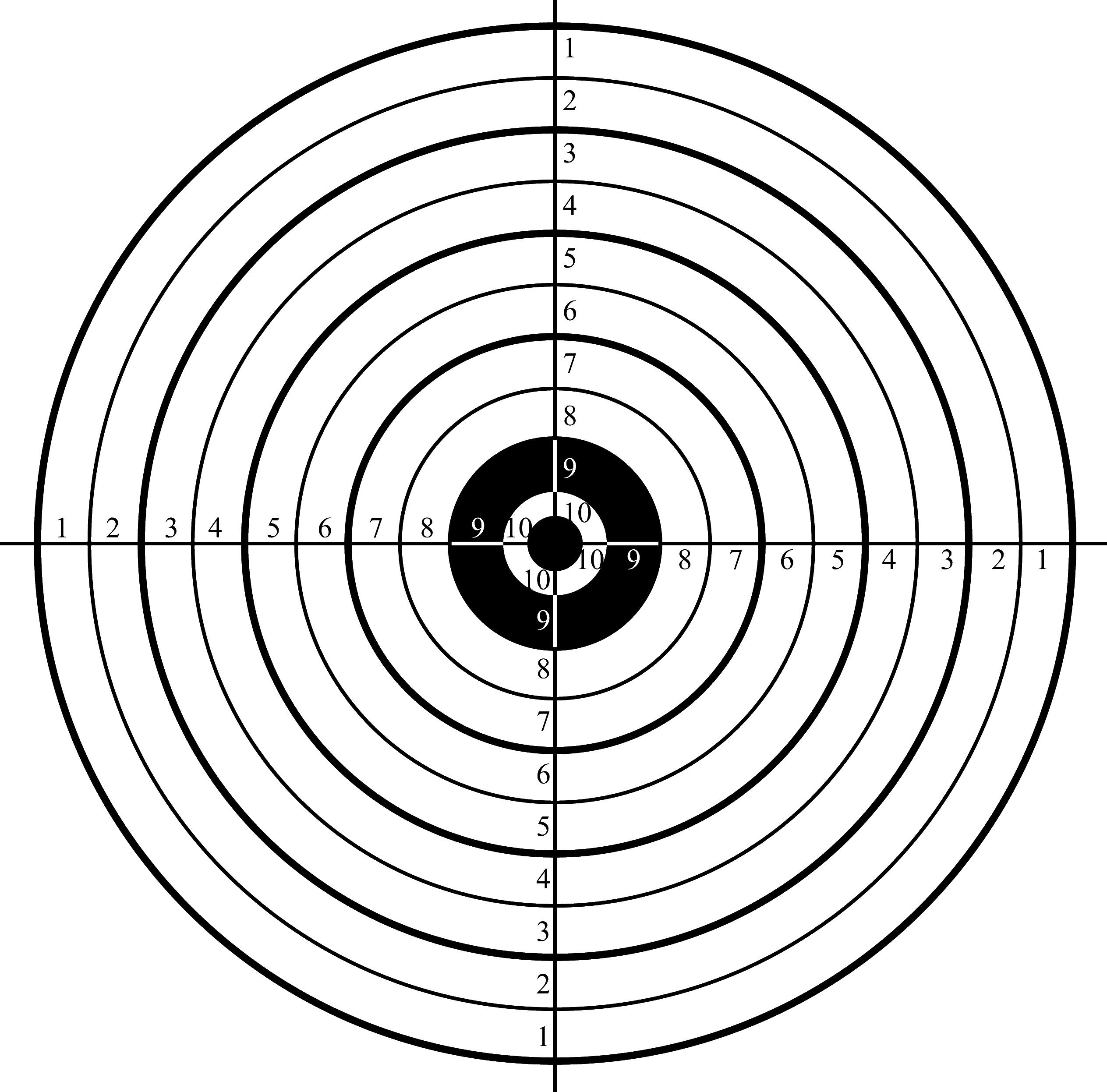 Printable Shooting Targets Pdf - Free Printable Shooting Targets