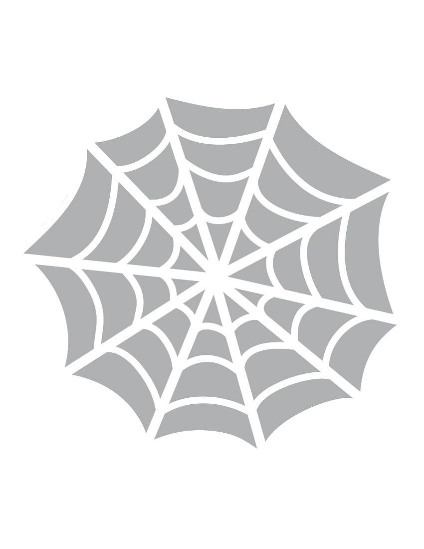Printable Spider Web Stencil - Coolest Free Printables. This Stencil - Free Printable Spider Web