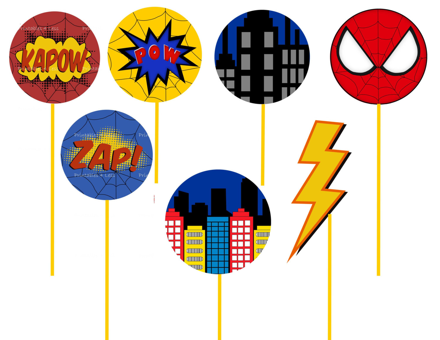 Printable Spiderman Clipart Collection - Free Printable Spiderman Pictures