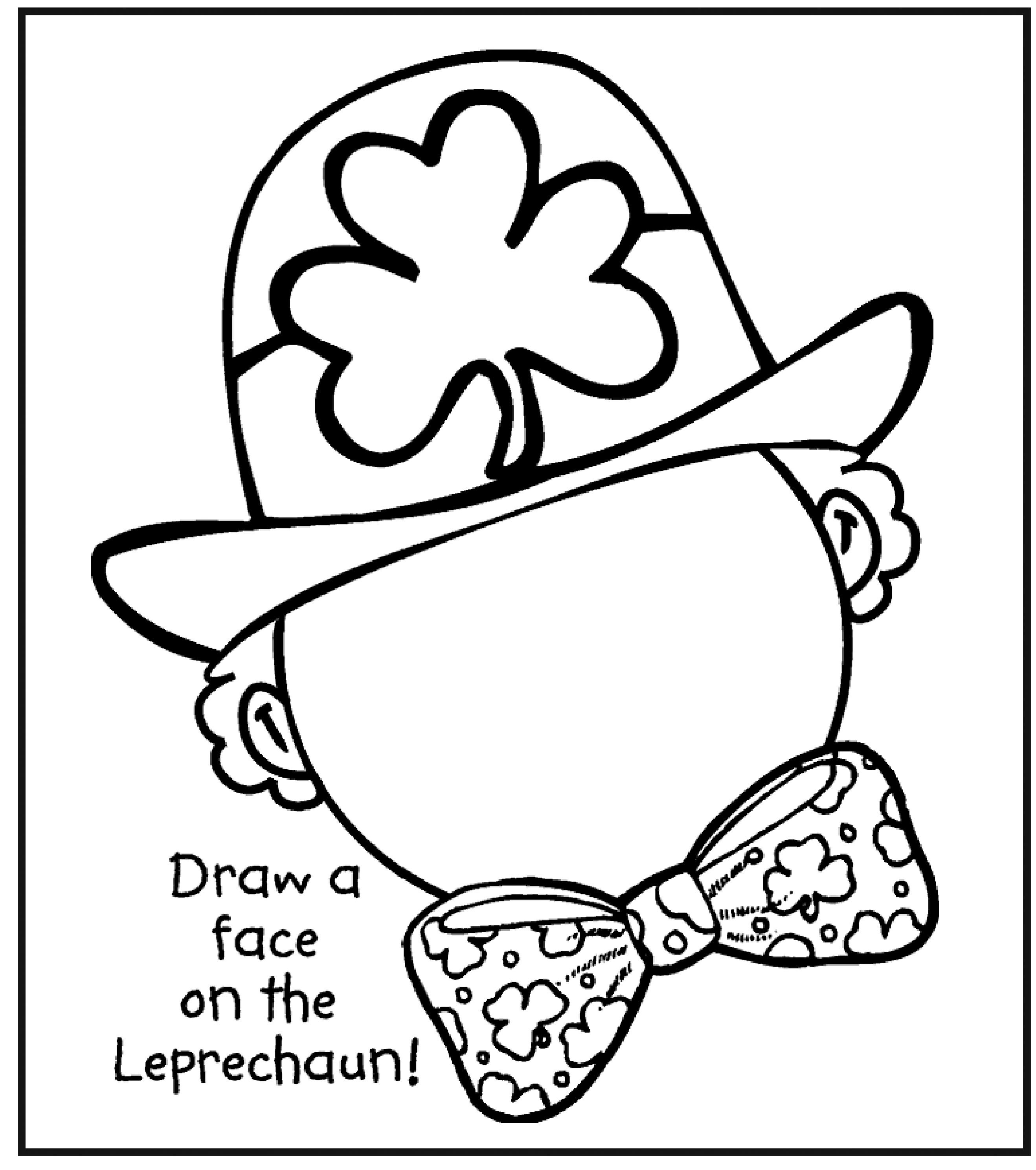 Printable St Patricks Day Coloring Pages 12 #19541 - Free Printable St Patrick Day Coloring Pages