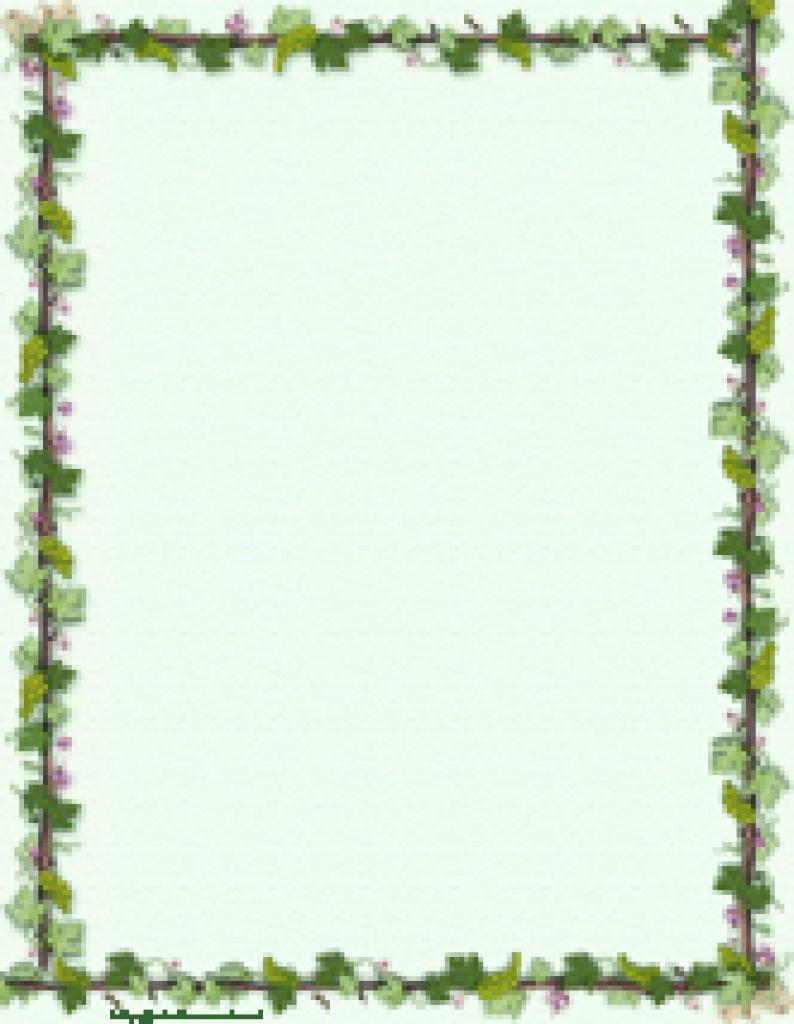 Printable Stationery, Free Stationery, Free Printable Stationary - Free Printable Spring Stationery