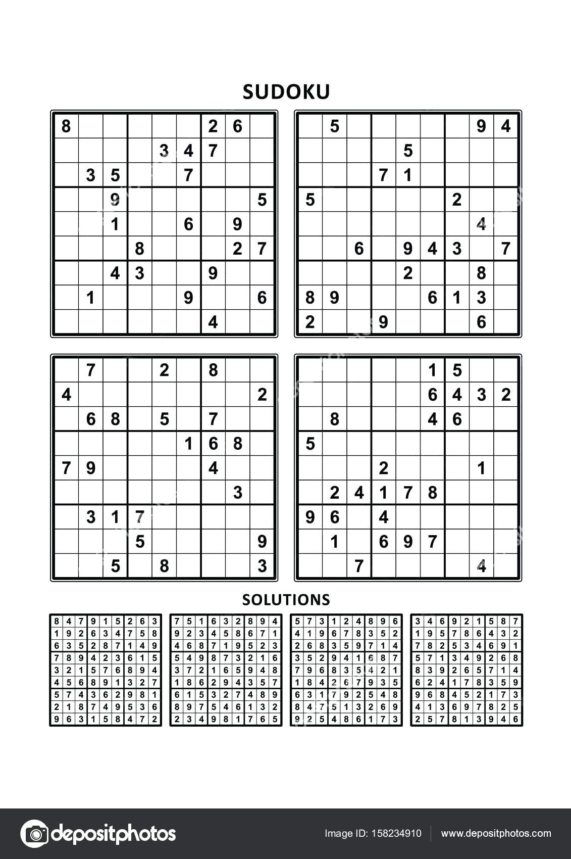 Printable Sudoku. Blank Printable Sudoku Grids Free Click This Text - Free Printable Sudoku 6 Per Page