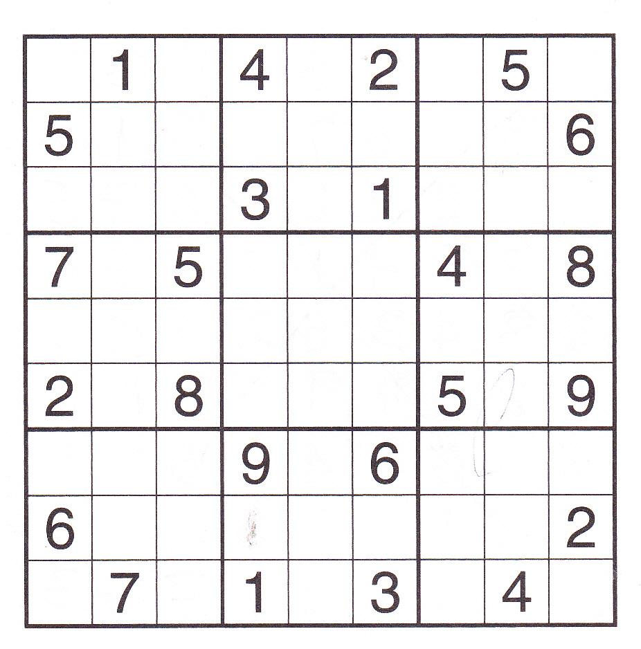 Printable Sudoku Pdf. Blank Sudoku Worksheets Pdf Crossword Puzzle - Free Printable Sudoku Pdf
