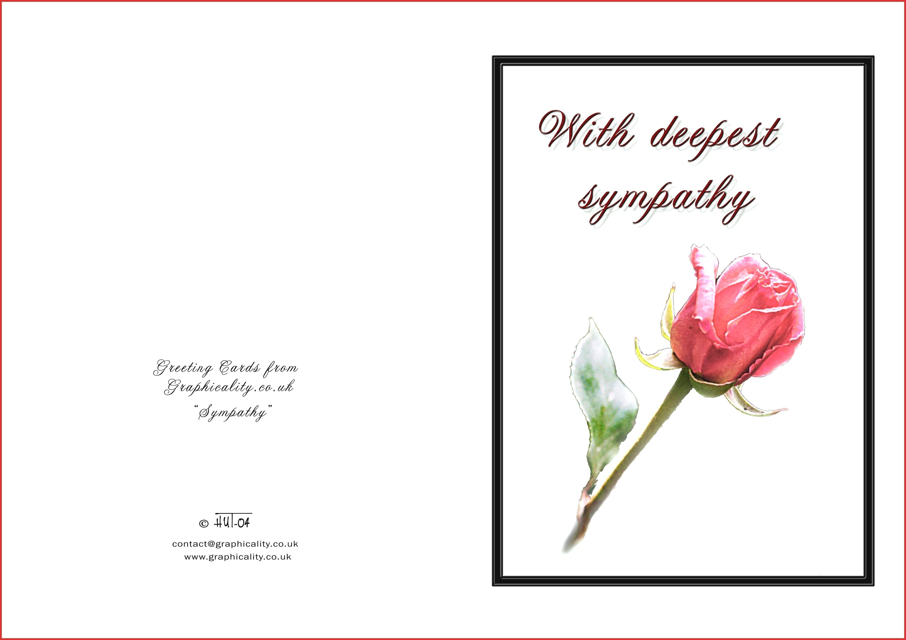 Printable Sympathy Cards - Hashtag Bg - Free Printable Sympathy Verses