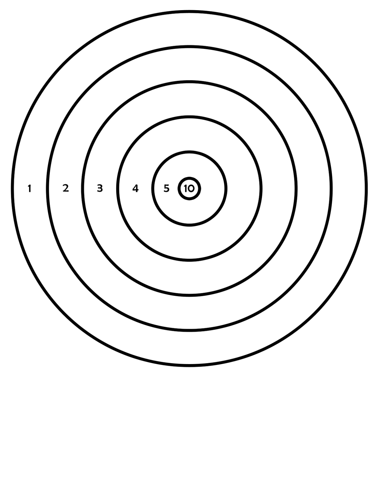 Printable Targets | 411Toys: Free Printable Airsoft Targets - Free Printable Shooting Targets