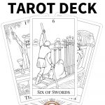 Printable Tarot Cards To Color   Printable Cards   Free Printable Cards To Color