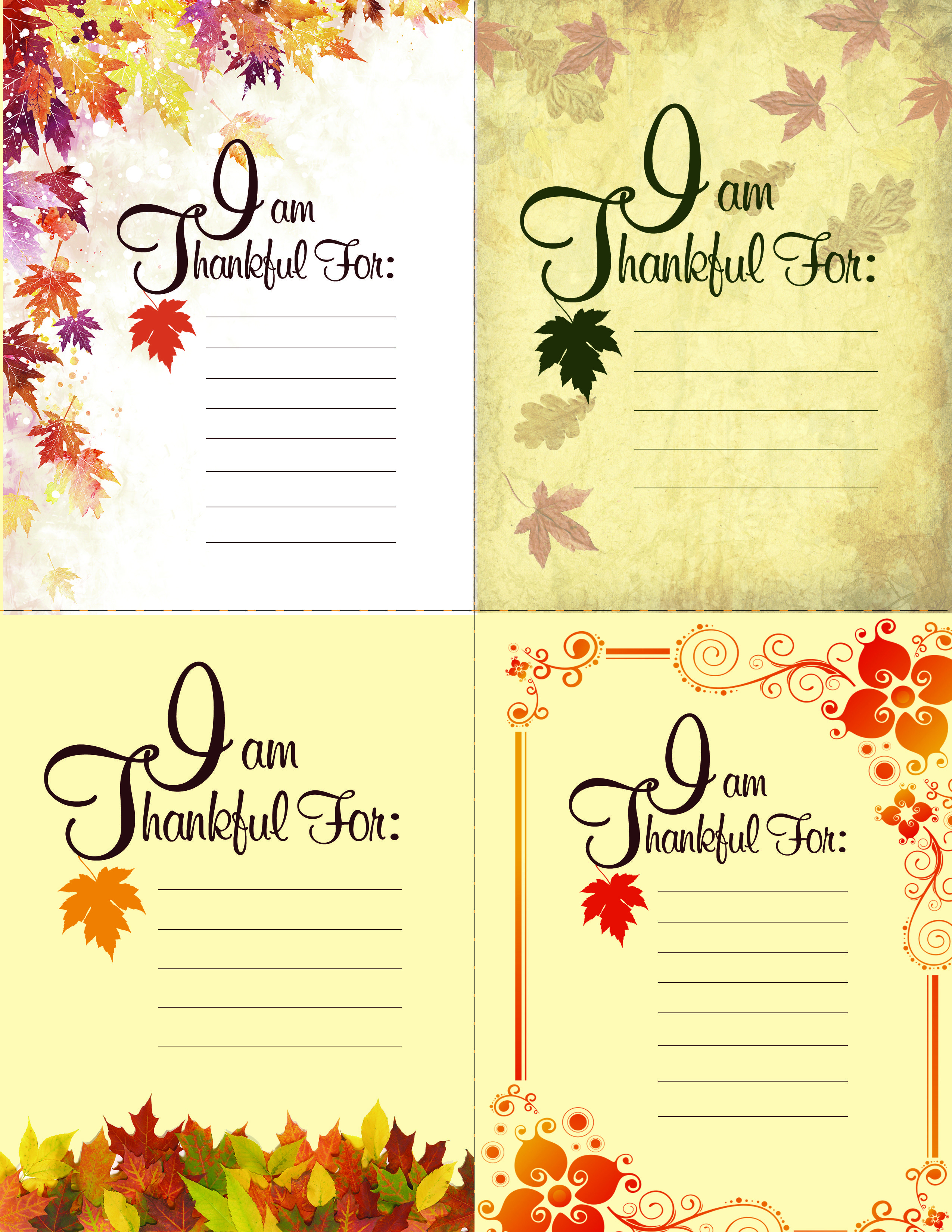 Printable Thanksgiving Place Setting Cards | Autumn | Pinterest - Free Printable Mothers Day Cards Blue Mountain