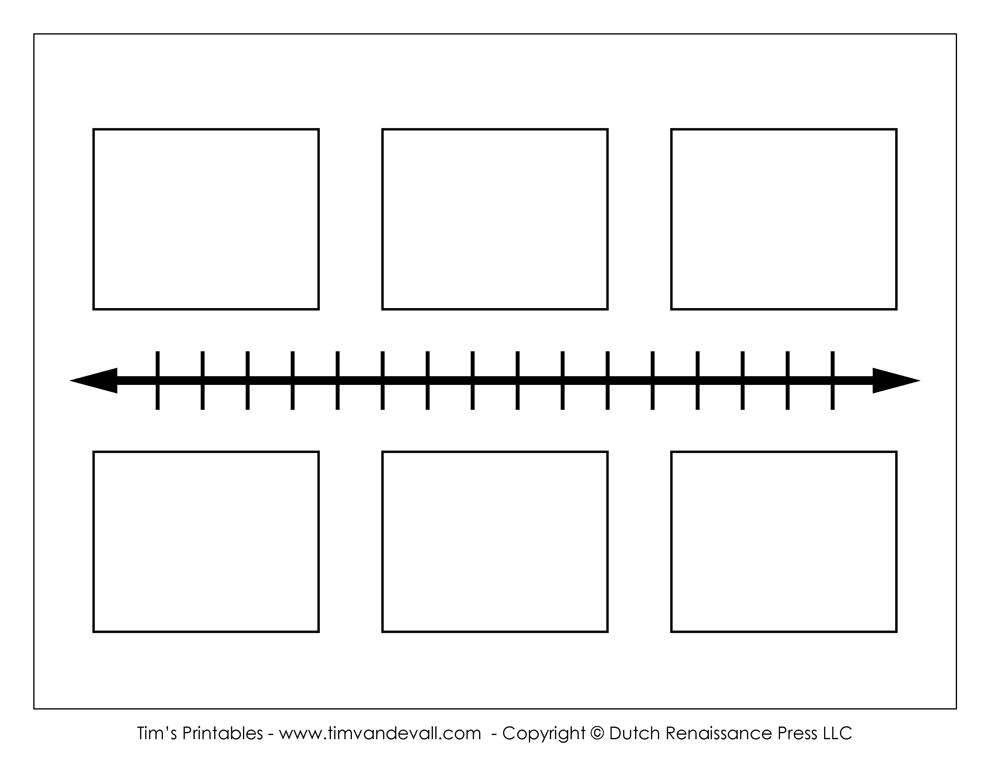 Printable Timeline Template | Ellipsis - Free Blank Timeline Template Printable