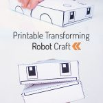 Printable Transforming Robot Craft | Free Printables | Crafts For   Free Printable Crafts