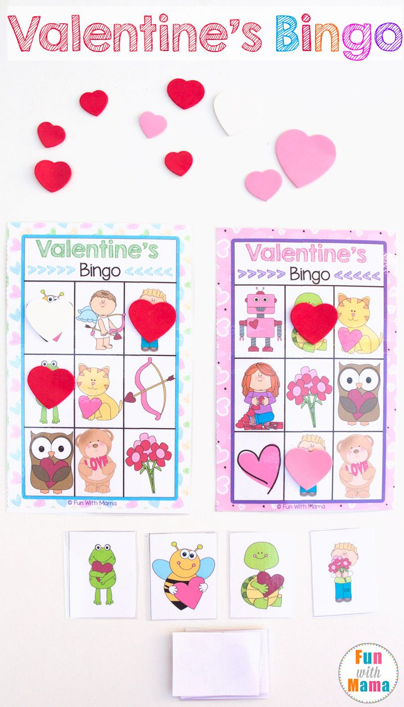 Printable Valentine's Bingo Game | Valentines Fun Zz | Valentine - Free Printable Valentine Games For Adults
