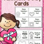Printable Valentine's Day Cards | Best Of Mama's Learning Corner   Free Printable Valentines Day Cards Kids