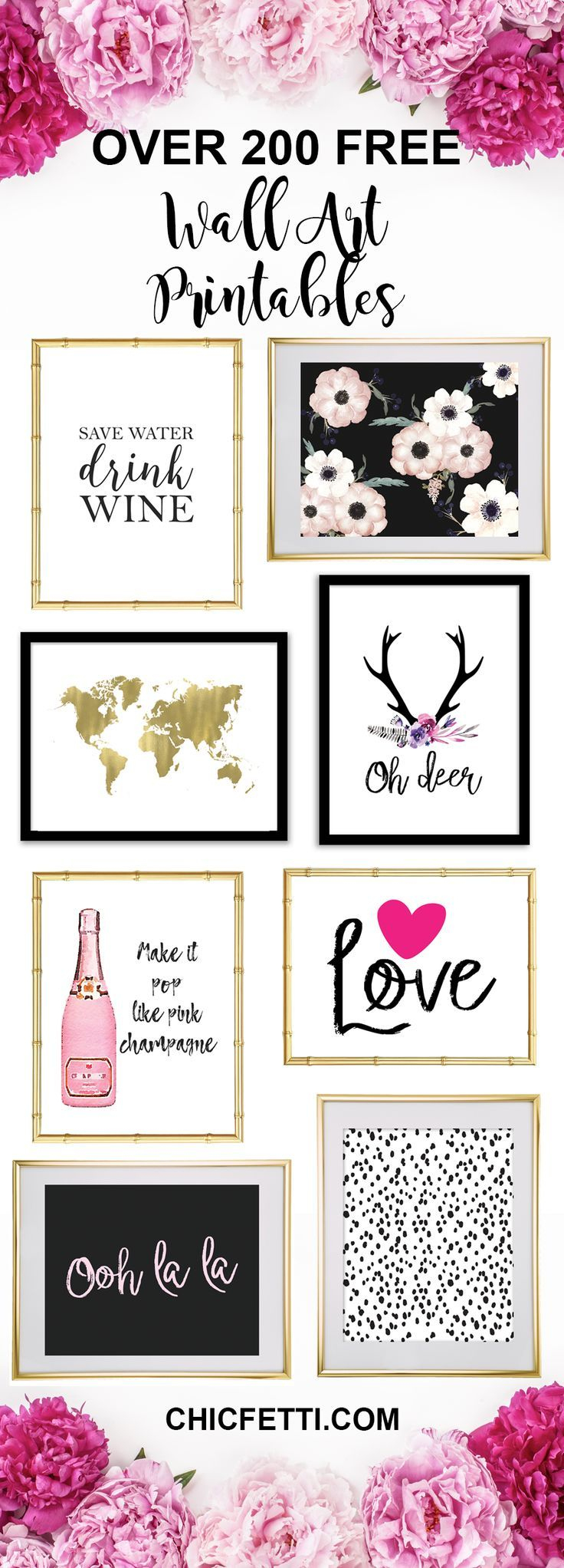 Printable Wall Art - Print Wall Decor And Poster Prints For Your - Free Printable Wall Art Prints