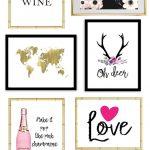 Printable Wall Art   Print Wall Decor And Poster Prints For Your   Free Printable Wall Posters