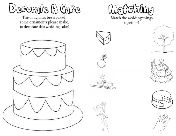 Free Printable Personalized Wedding Coloring Book