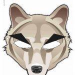 Printable Wolf Mask | Printable Masks For Kids | Wolf Mask, Wolf   Free Printable Wolf Face Mask