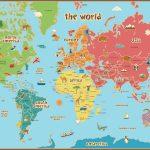 Printable World Maps Reference Printable World Map Pdf New Printable   Free Printable World Map Pdf