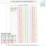 Printables | Misstiina   Free Cute Printable Planner 2017