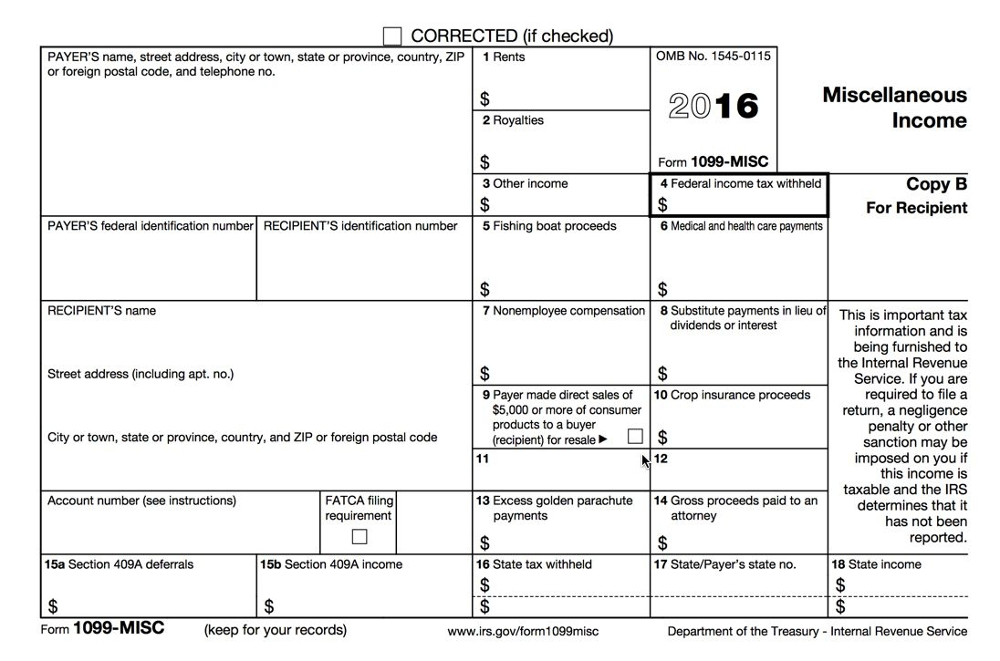 Process 1099 Misc Forms – Buildium Help Center Within 1099 Form - Free Printable 1099 Form