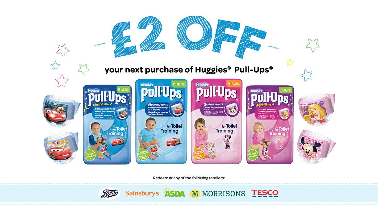 Pull-Ups Coupon 2 Pounds Money Off Supermarkets | Uk Coupons - Free Printable Coupons For Pampers Pull Ups