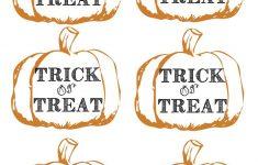 Pumpkin Tags Free Printable | Party Like A Cherry | Pinterest – Free Printable Halloween Tags