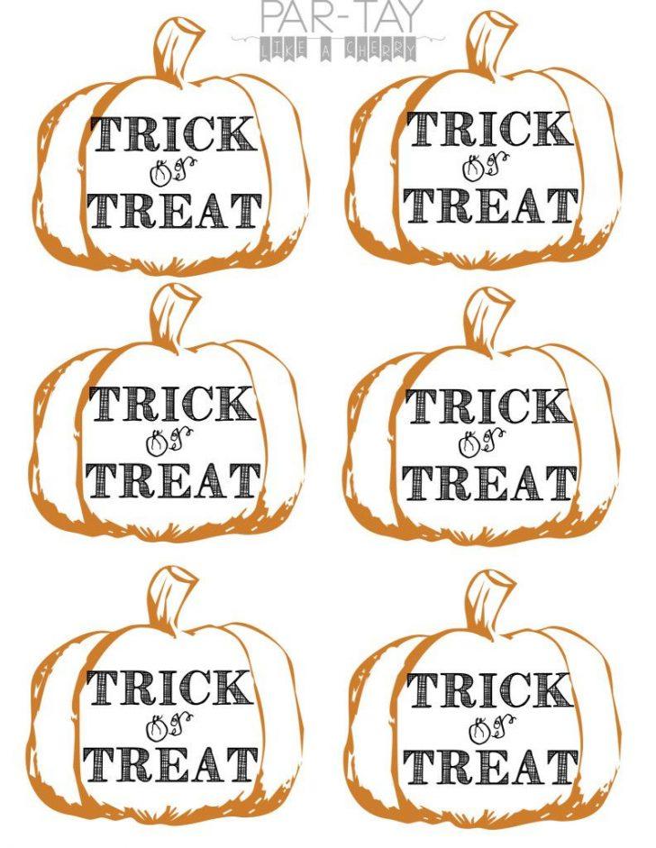 Free Printable Halloween Tags