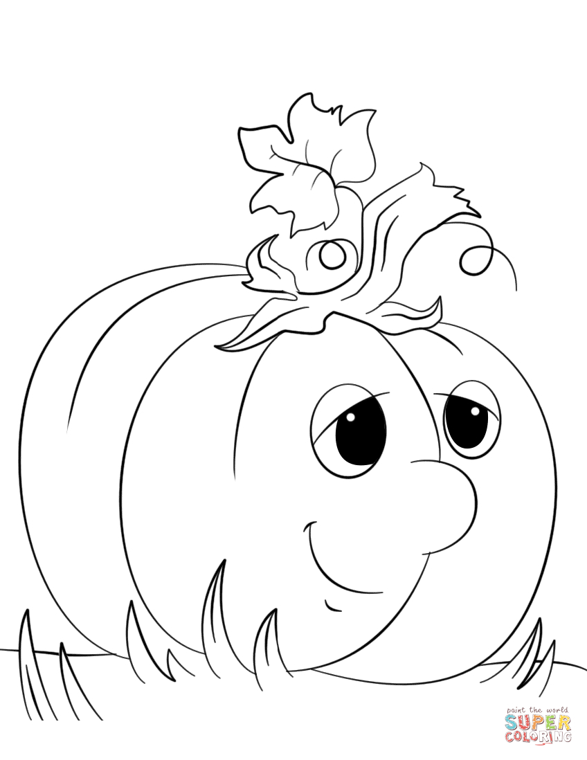 Pumpkins Coloring Pages | Free Coloring Pages - Free Printable Pumpkin Coloring Pages