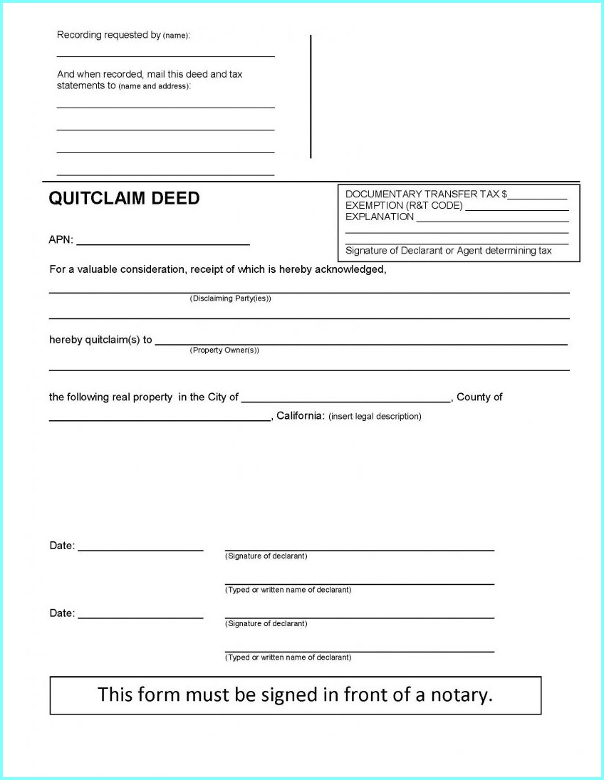 Quit Claim Deed Form Michigan Ottawa County - Form : Resume Examples - Free Printable Quit Claim Deed Washington State Form