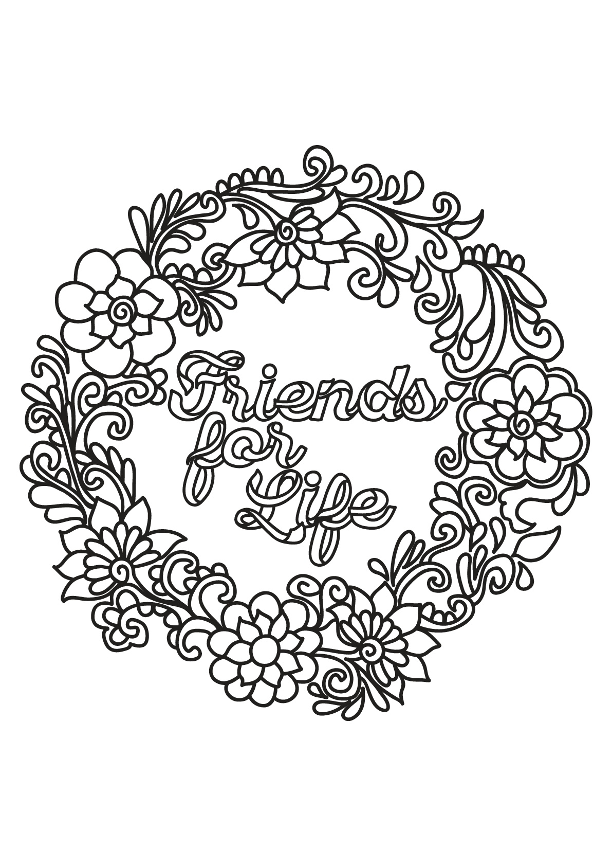 Quotes - Coloring Pages For Adults - Free Printable Quote Coloring Pages For Adults