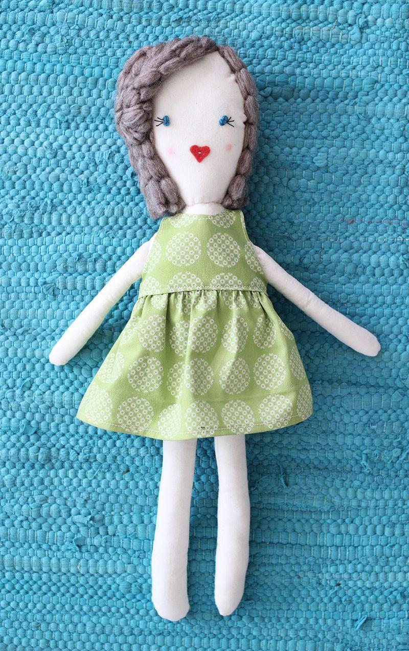Rag Doll Diy (Click Through For Free Printable Pattern | Diys - Free Printable Rag Doll Patterns