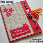 Rakshabandhan Cards With Rakhi :) | Kraftkutir's Handmade Products   Free Online Printable Rakhi Cards